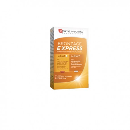 Forte pharma bronzage express 30 gélules