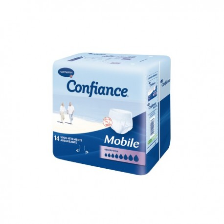 Confiance mobile absorption 10 slip taille L x14