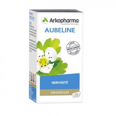 Arkopharma Arkogélules aubéline flacon 45 gélules