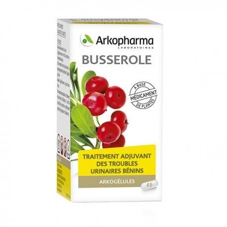 Arkopharma Arkogélules Busserole flacon 45 gélules