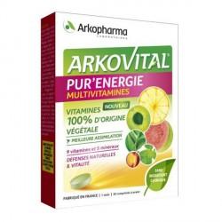 Arkopharma Arkovital Pur'Energie 30 comprimés