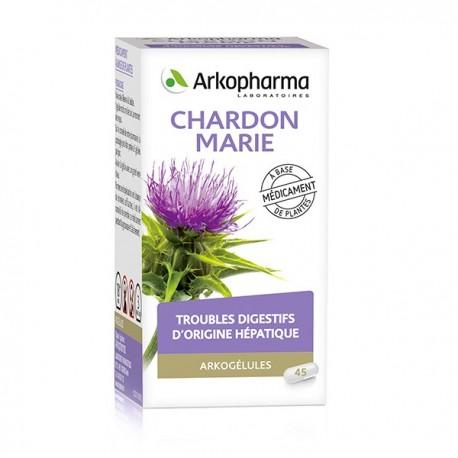 Arkopharma Arkogélules charbon marie flacon 45
