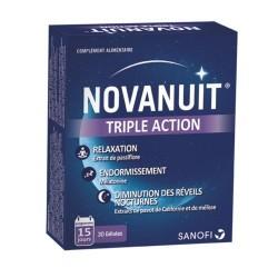 Novanuit Triple Action 30 Gélules