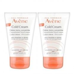 Avene cold cream mains duo 2x50ml