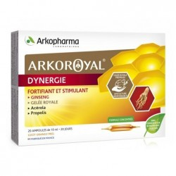 Arkopharma Arkoroyal® dynergie complément alimentaire 20 ampoules 10ml