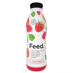 Feed ready to drink fruits rouges 750g