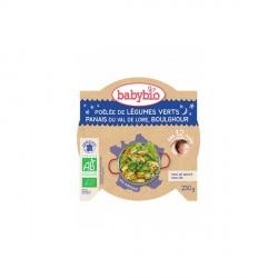 Babybio assiette légumes vert panais et boulghour 230g