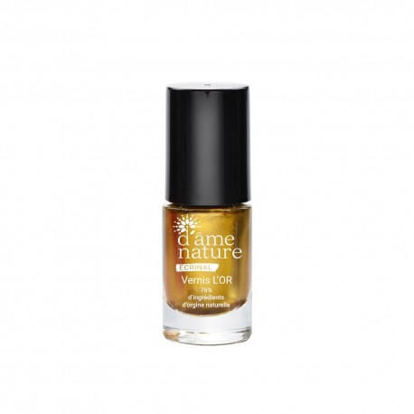 Ecrinal vernis l'or soin au sillicum 5ml