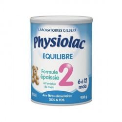 Physiolac lait equilibre formule épaissie 2 900g