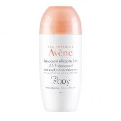 Avène body déodorant efficacité 24h 50ml