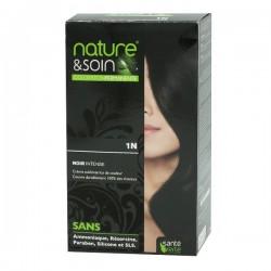 Santé verte nature & soin coloration permanente noir intense1n