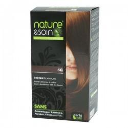Santé verte nature & soin coloration 5G châtain clair doré 129ml