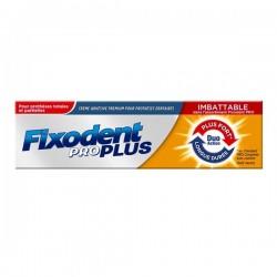 Fixodent pro plus crème adhésive premium pour prothèses dentaires 60g