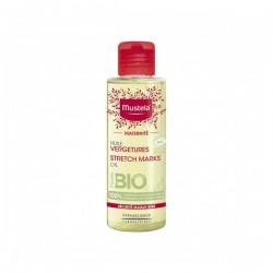 Mustela maternité huile vergetures bio 105ml