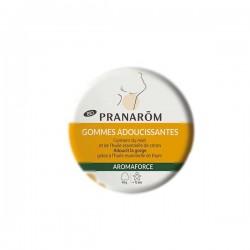 Pranarôm aromaforce gommes adoucissantes miel/citron bio 45g