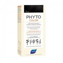Phytocolor 1 noir coloration permanente 122ml