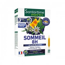 Santarome phyto sommeil 8h 20 ampoules x 10ml