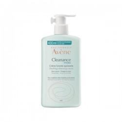 Avène cleanance hydra crème lavante apaisante flacon 400ml