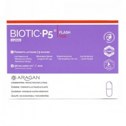 Aragan biotic p5 flash boîte de 10 gélules