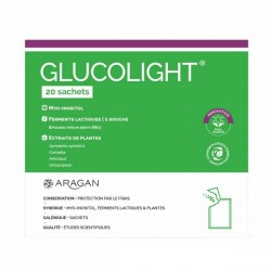 Aragan glucolight complément alimentaire 20 sachets
