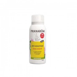 Pranarôm aromapic anti-moustique spray corporel 75ml