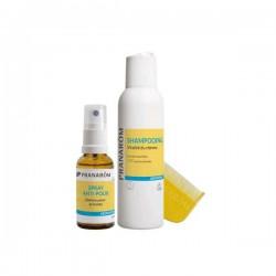 Pranarôm aromapoux spray anti-poux + shampooing + peigne