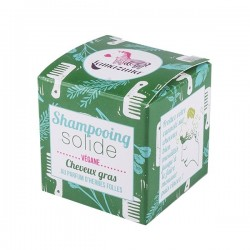 Lamazuna shampoing solide cheveux gras herbes folles 55g
