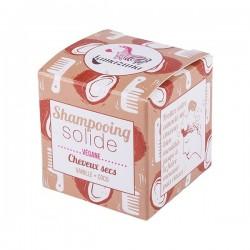 Lamazuna shampoing solide cheveux secs vanille coco 55g