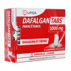 DAFALGAN TABS 1000 MG BT 8