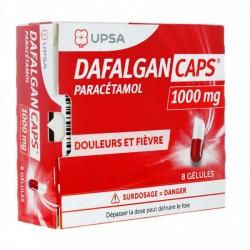 DAFALGAN CAPS 1000MG BT 8