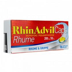 RHINADVIL CAPS BTE16