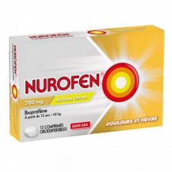NUROFEN 200MG CPR DISP CITRON BT12