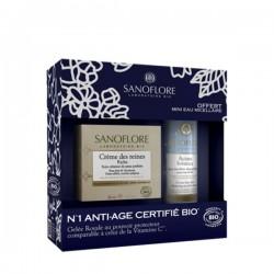 Sanoflore coffret riche des reines 50ml et eau micéllaire 50ml