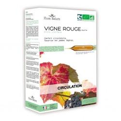 Flora natura vigne rouge bio
