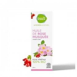 PHARMASCIENCE HUILE DE ROSE MUSQUE 50ML