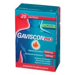 GAVISCONPRO MENT BUV 20SACHETS