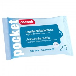 ASSANISS LINGETTES POCKET X 25