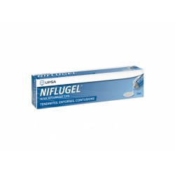 NIFLUGEL 2,5% GEL LOC T/60G