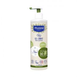 Mustela gel lavant certifié bio corps & cheveux 400ml