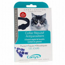 Asepta canys collier antiparasitaire insectifuge chat chaton
