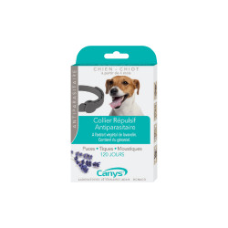 Asepta canys collier antiparasitaire insectifuge chien chiot