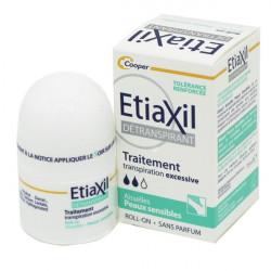 Etiaxil détranspirant aisselles peaux sensibles roll on 15ml