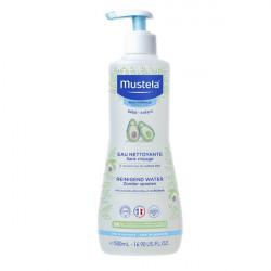 Mustela peau normale eau nettoyante sans rinçage à l'avocat bio 500ml
