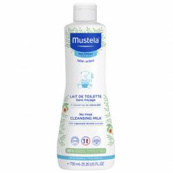 Mustela lait de toilette sans rinçage à l'avocat bio 750ml