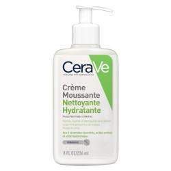 Cerave crème moussante nettoyante hydratante