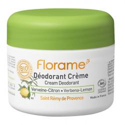 Florame déodorant crème verveine citron 50g