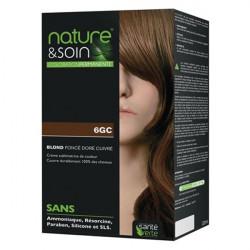 Santé verte nature & soin coloration 6GC Blond foncé doré cuivré 132ml