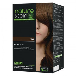 Santé verte nature & soin coloration permanente 7G blond doré 132ml