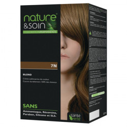 Santé verte nature & soin coloration permanente 7N blond 132ml