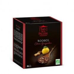 Thé de la pagodeRooibos citron/gingembre 20 sachets